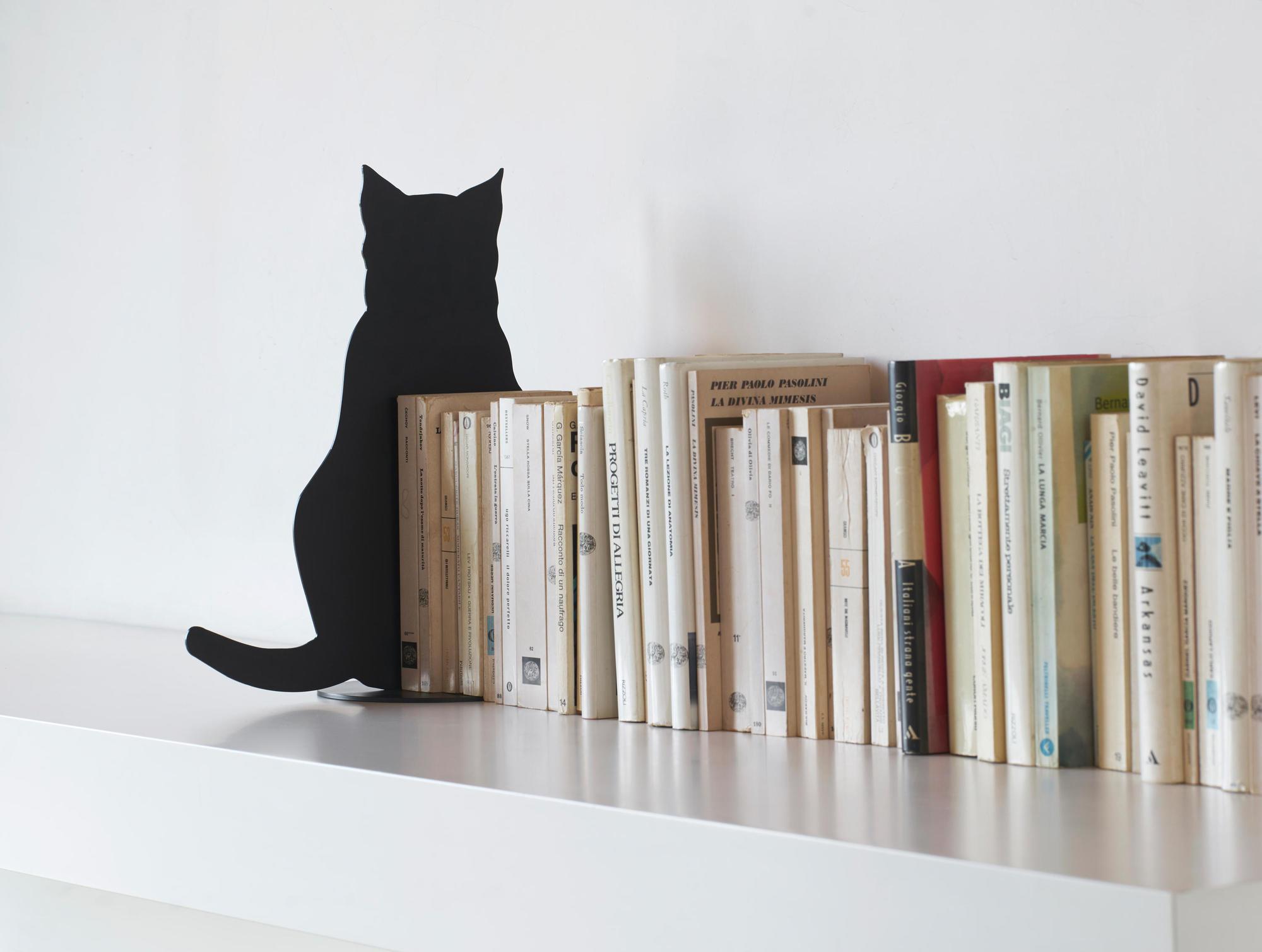 Ombres de Chats Tischdeko / Buchstütze Katze Opinion Ciatti