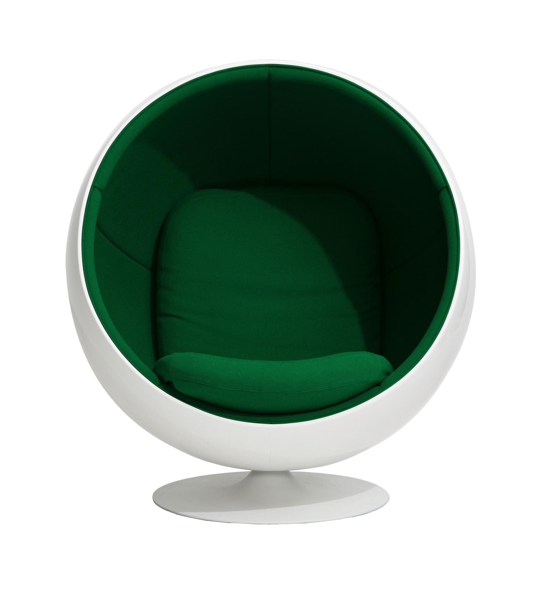 Ball Chair Sessel Hallingdal Blau 753 Eero Aarnio Originals AUSSTELLUNGSSTÜCK
