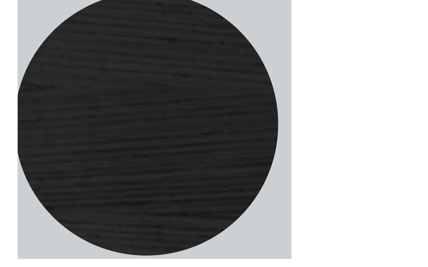 Esche schwarz gebeizt