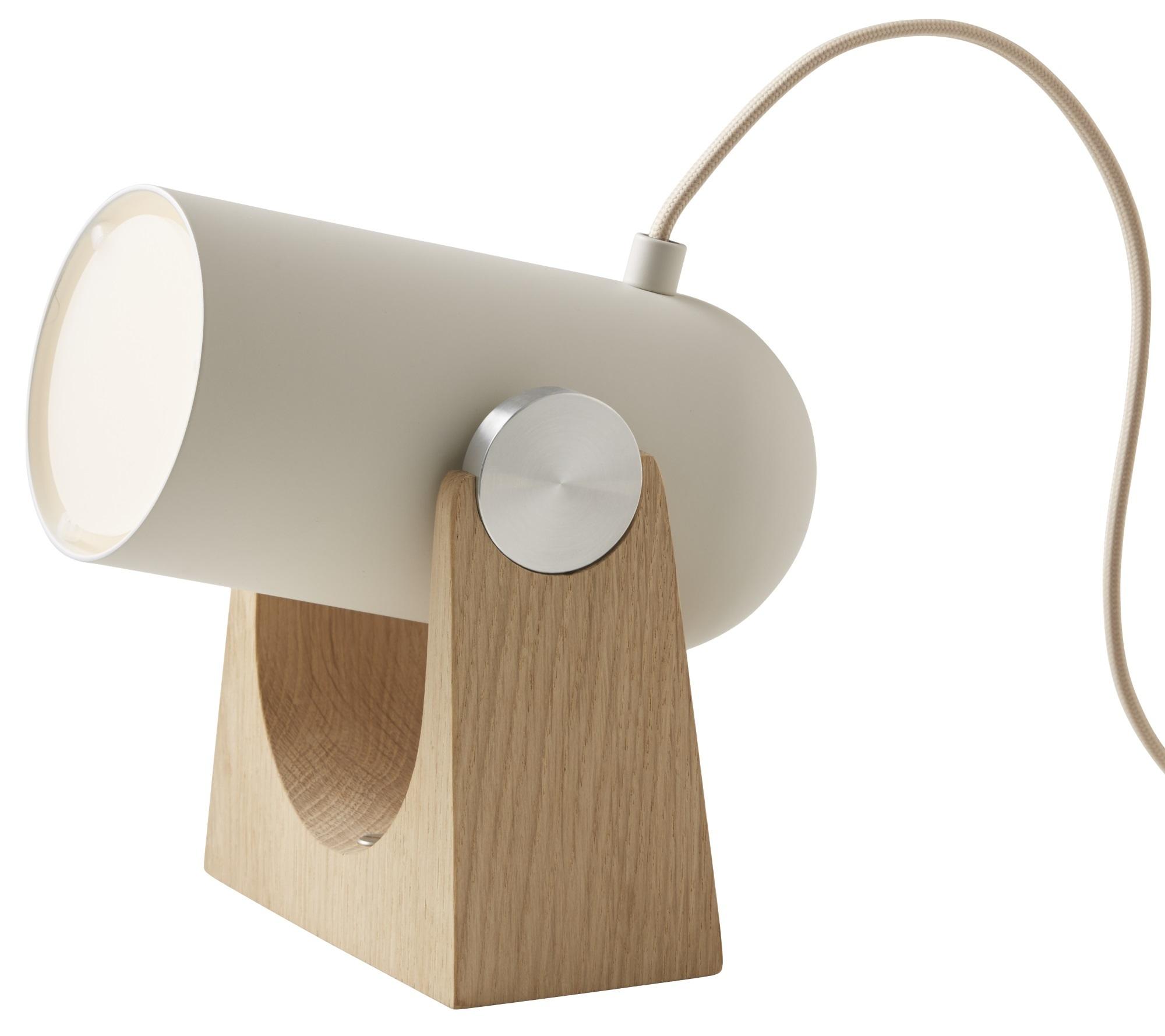 Carronade Tisch- oder Wandleuchte Le Klint-Eiche geseift / sand