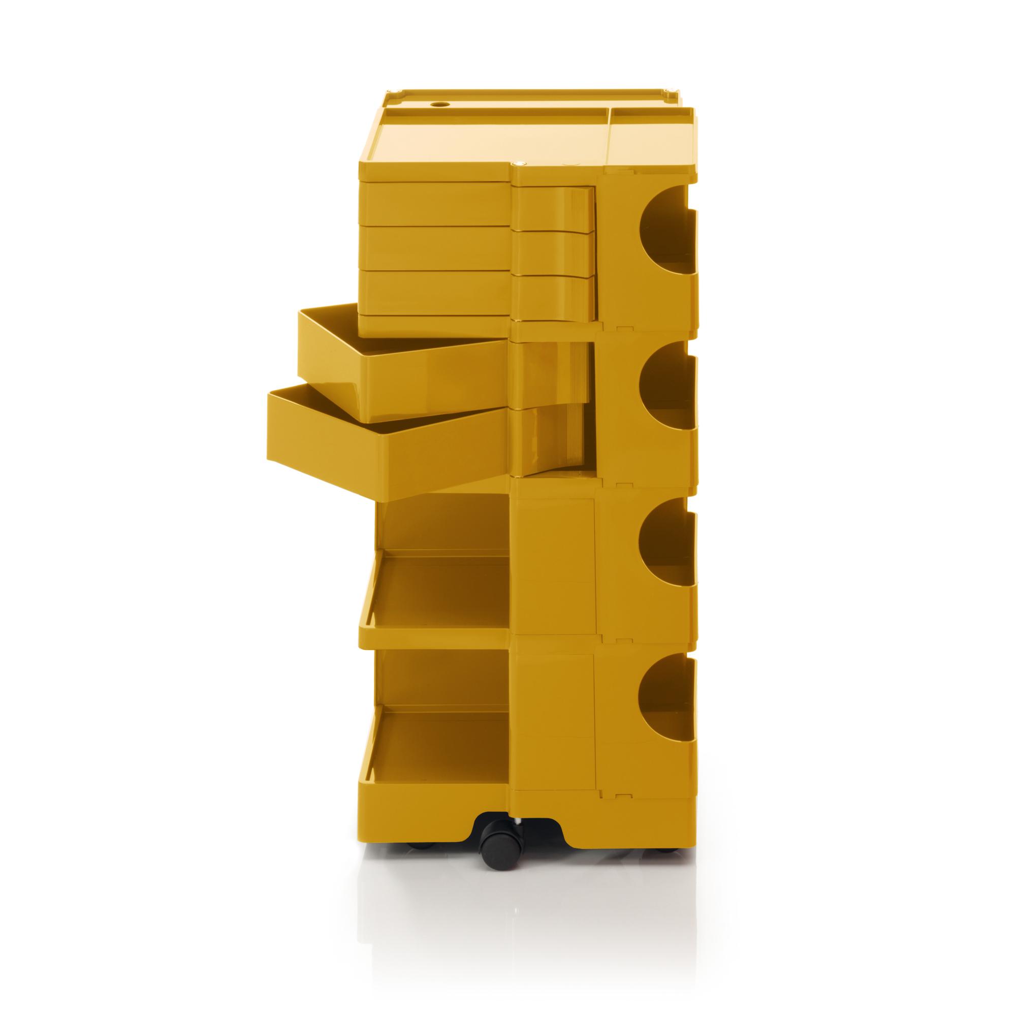 Boby B45 Rollcontainer Schwarz B-Line