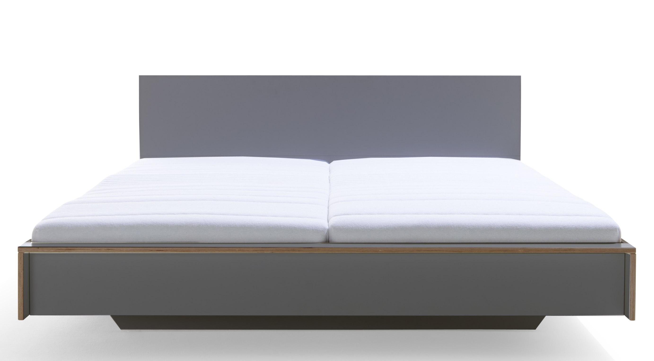 Kopfteil für Flai Doppelbett Anthrazit Müller Möbelwerkstätten