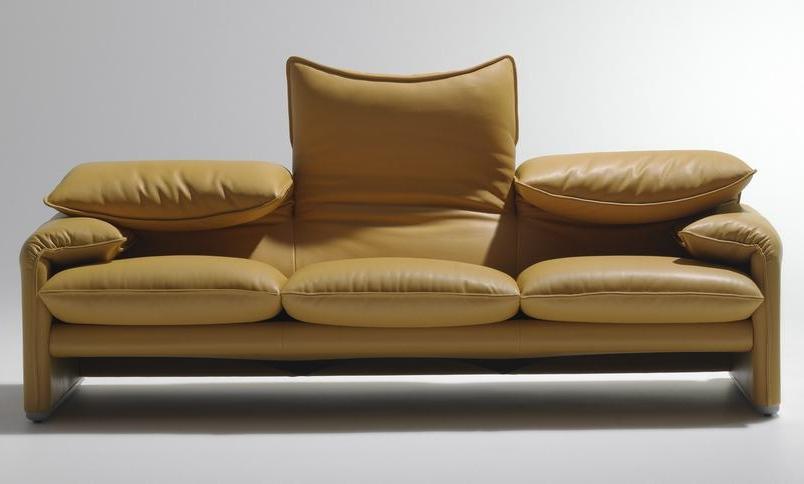 675 Maralunga Sofa Dreisitzer Cassina