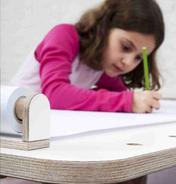 Growing Table Zeichenrolle für Kindertisch Pure Position