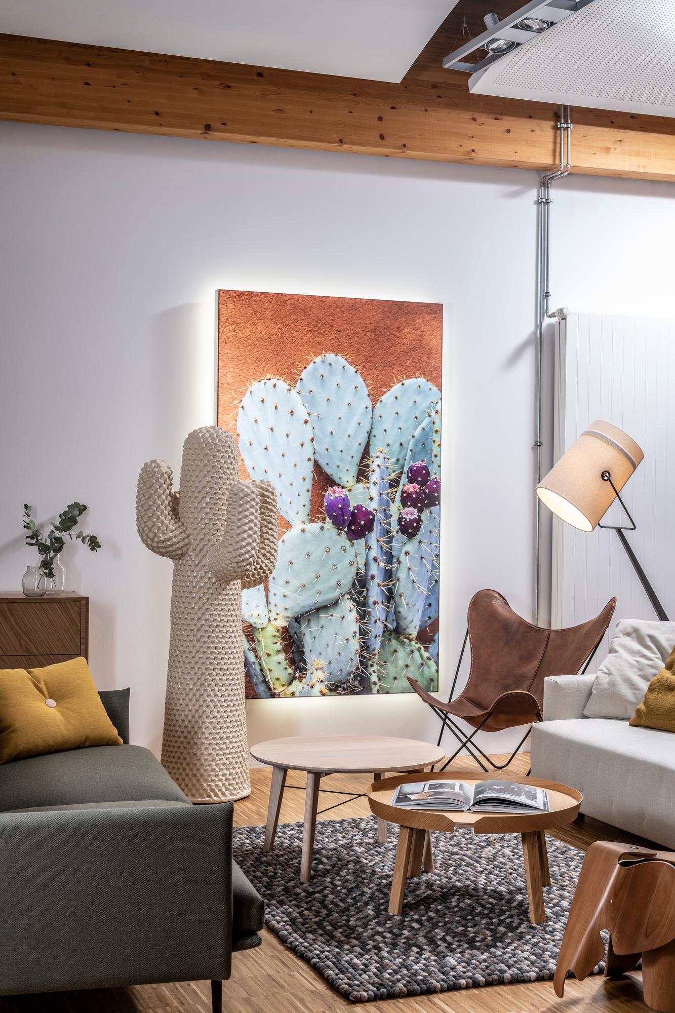 Another Kaktus Kleiderständer Grün Gufram