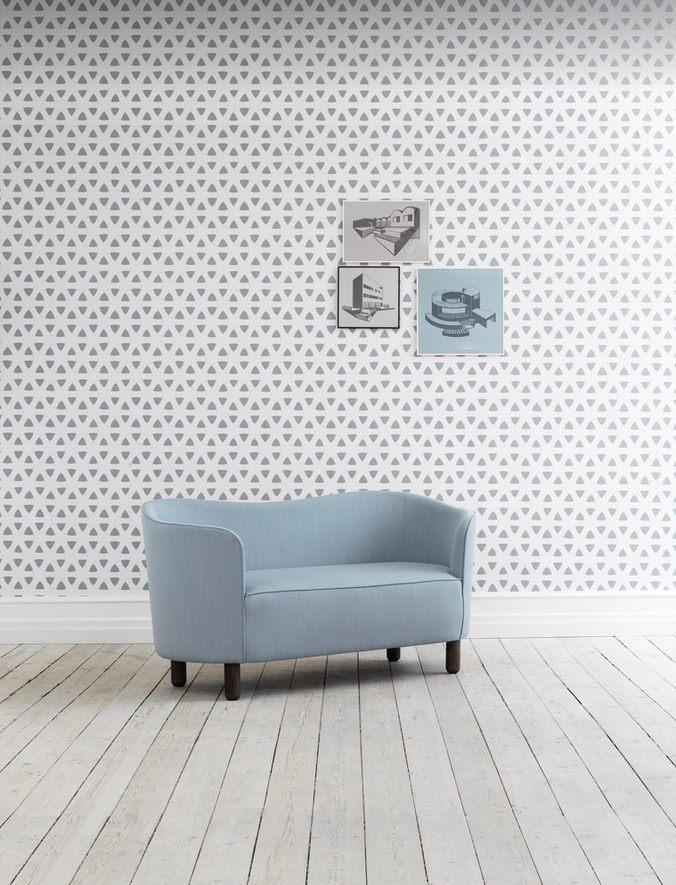 Mingle Sofa Zweisitzer by Lassen