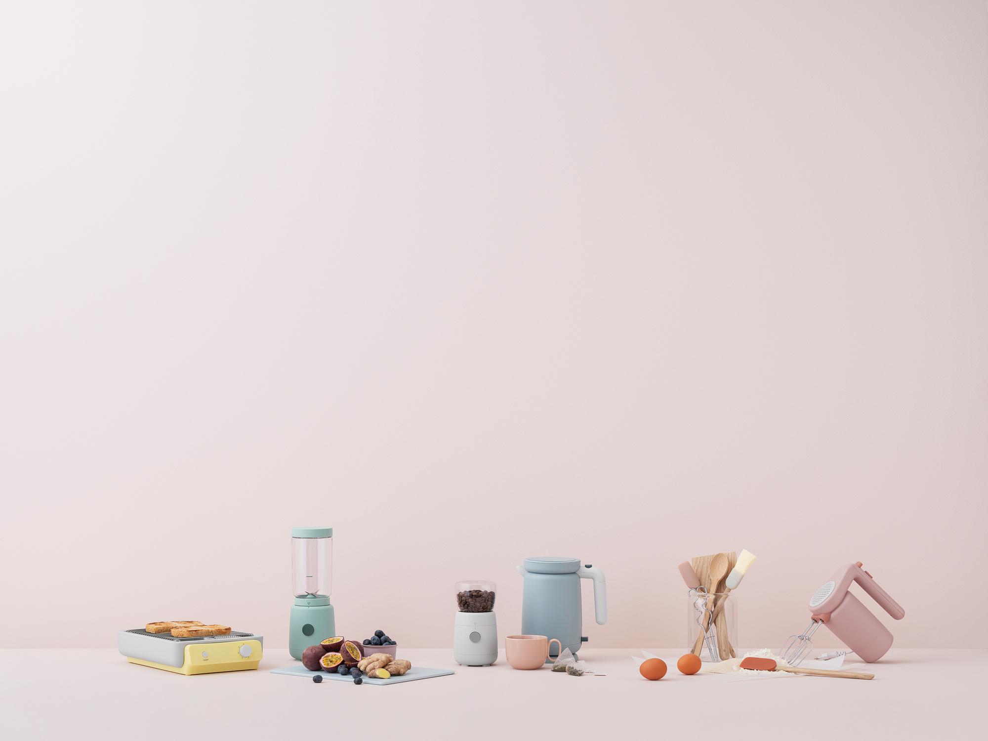 Foodie Smoothie blender Smoothie Mixer Hellgrün Stelton