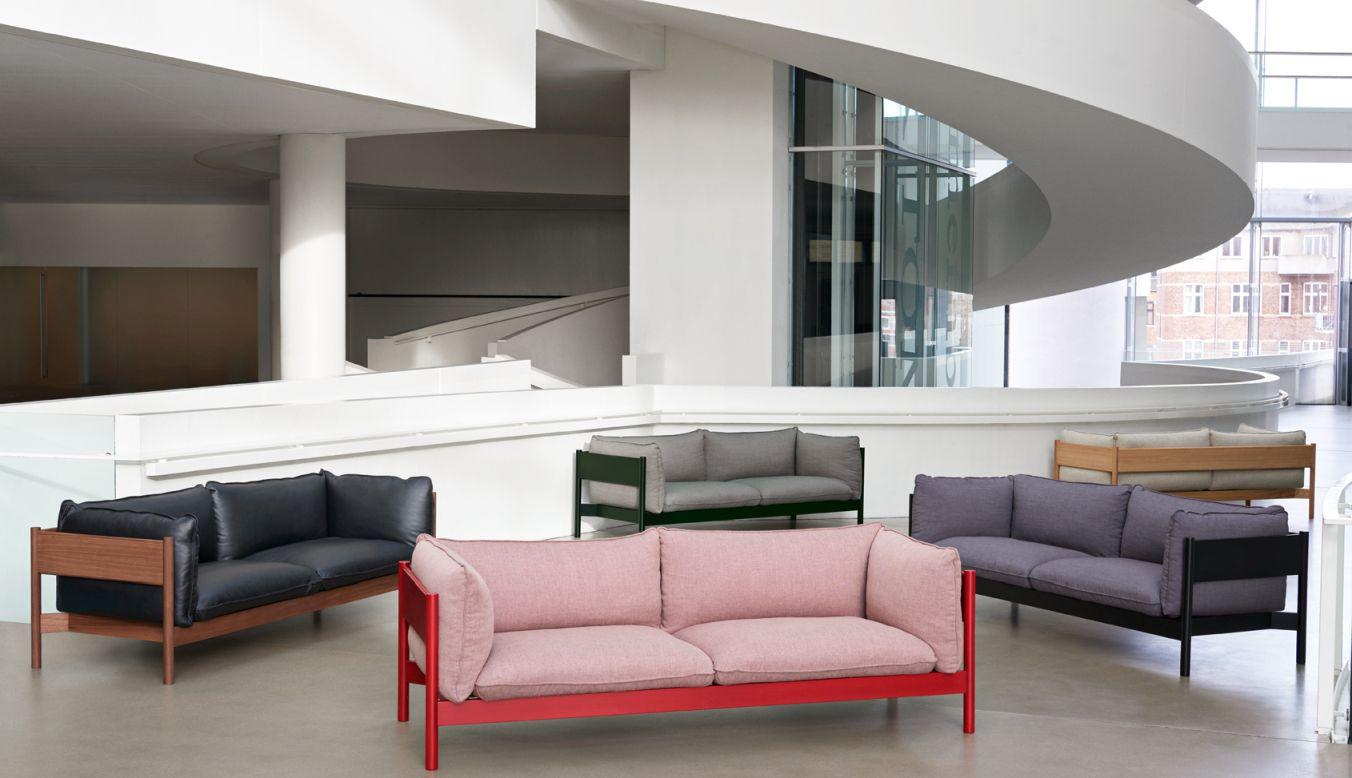Arbour Eco 3-Sitzer-Sofa Hay