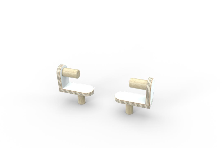 Growing Table Zeichenrollenhalterung für Kindertisch Pure Position