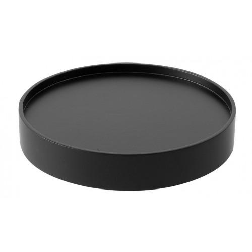 mit Tablett schwarz