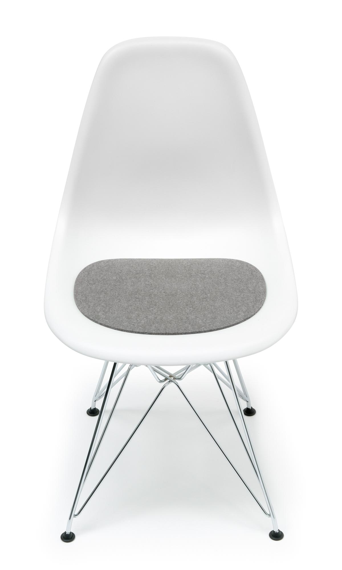Sitzauflage-Filzauflage Eames Plastic Side Chairs DSR / DSW Hell meliert Hey Sign