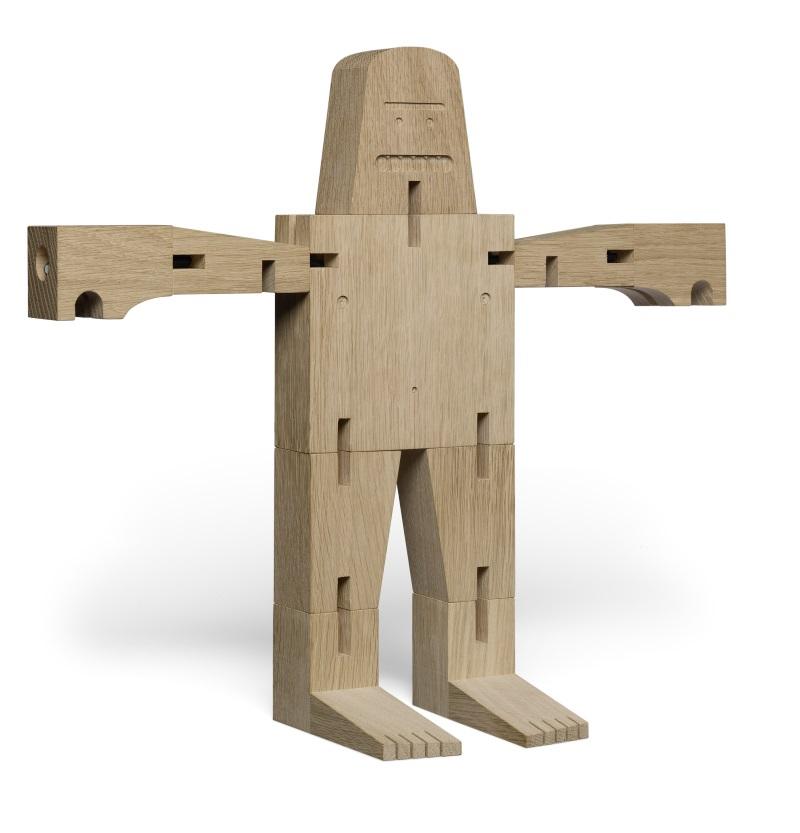 Holzfigur David Weeks e15