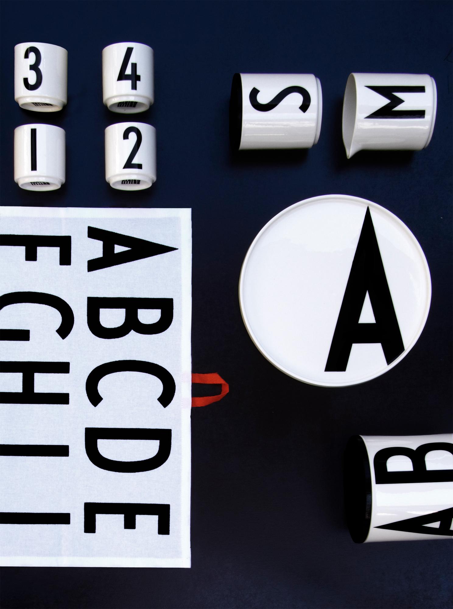 Espressotassen Design Letters