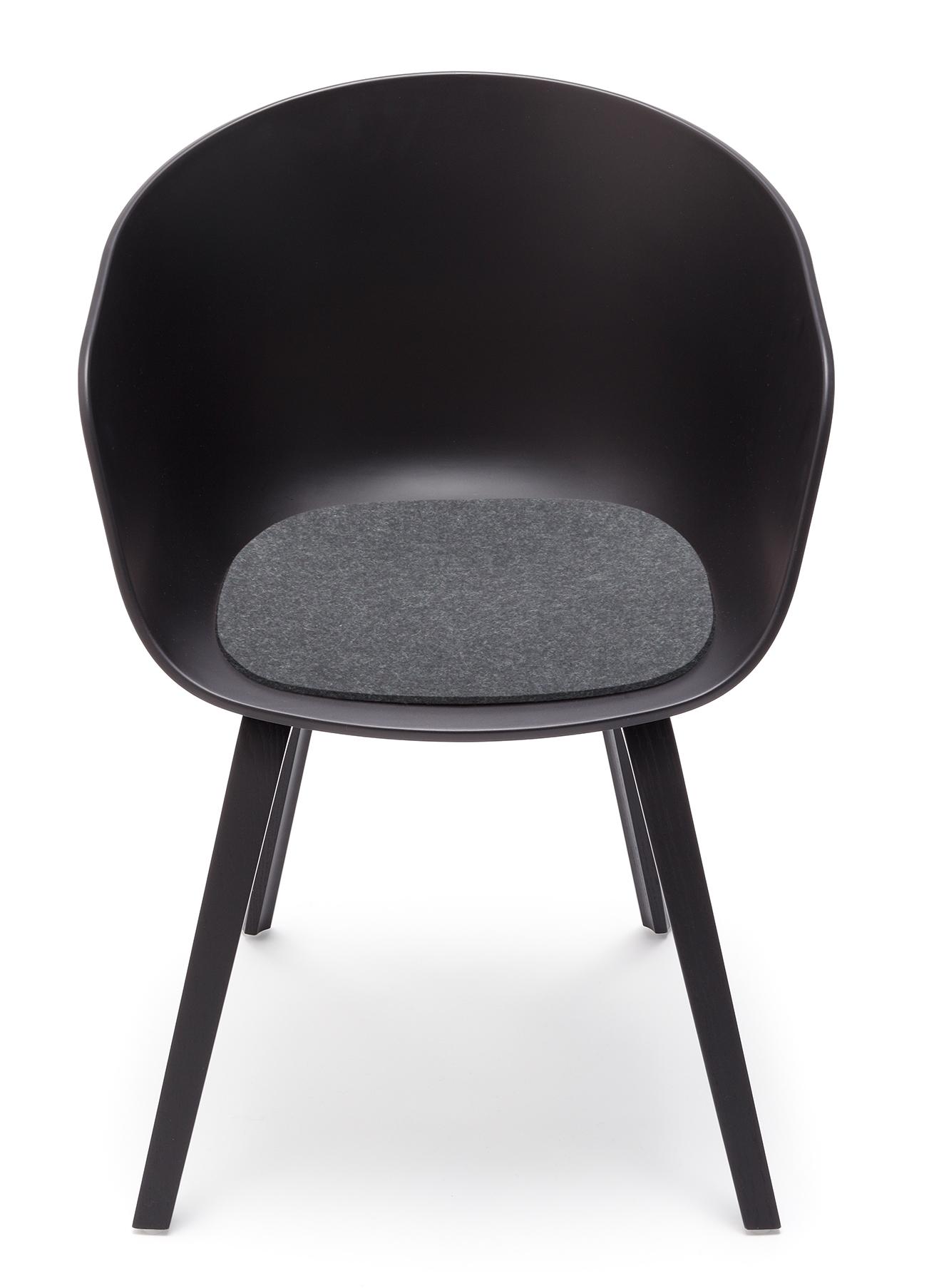 Sitzauflage - Filzauflage About A Chair AAC22 / AAC 22 Schoko Hey Sign