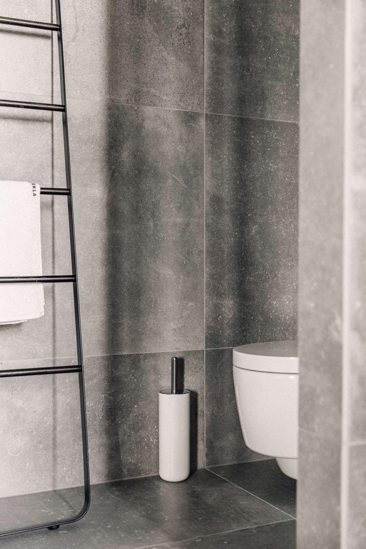 Toilet Brush Toilettenbürste Menu Weiss