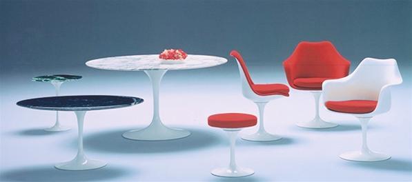 Tulip stool Hocker Knoll International