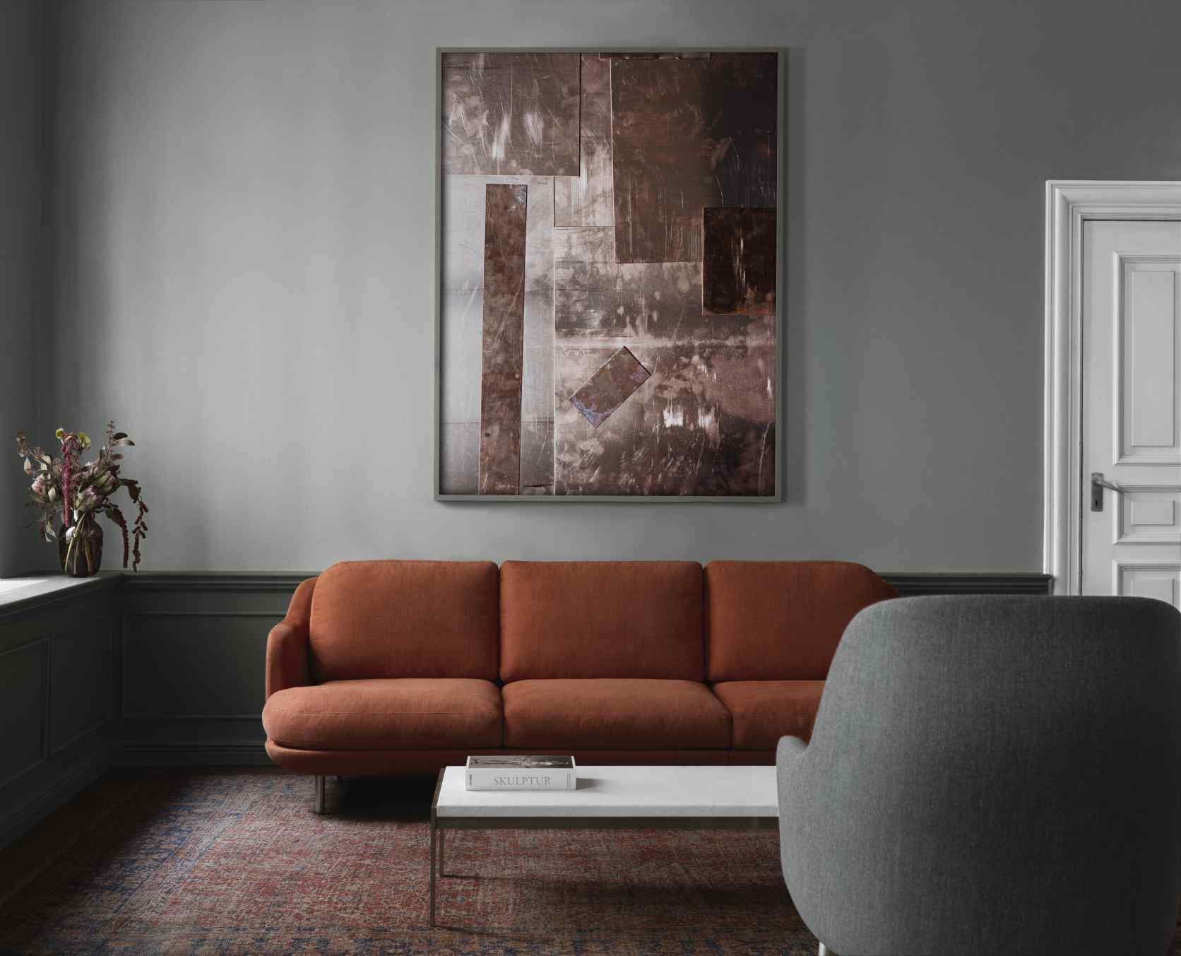 Lune 3-Sitzer Sofa Fritz Hansen