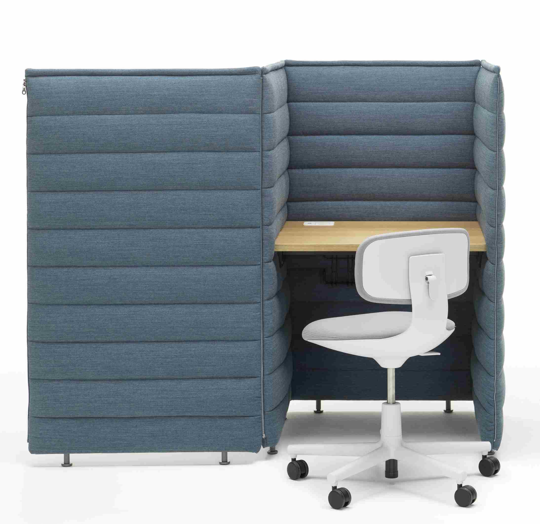 Alcove Plus Desk Small Schreibtisch Vitra
