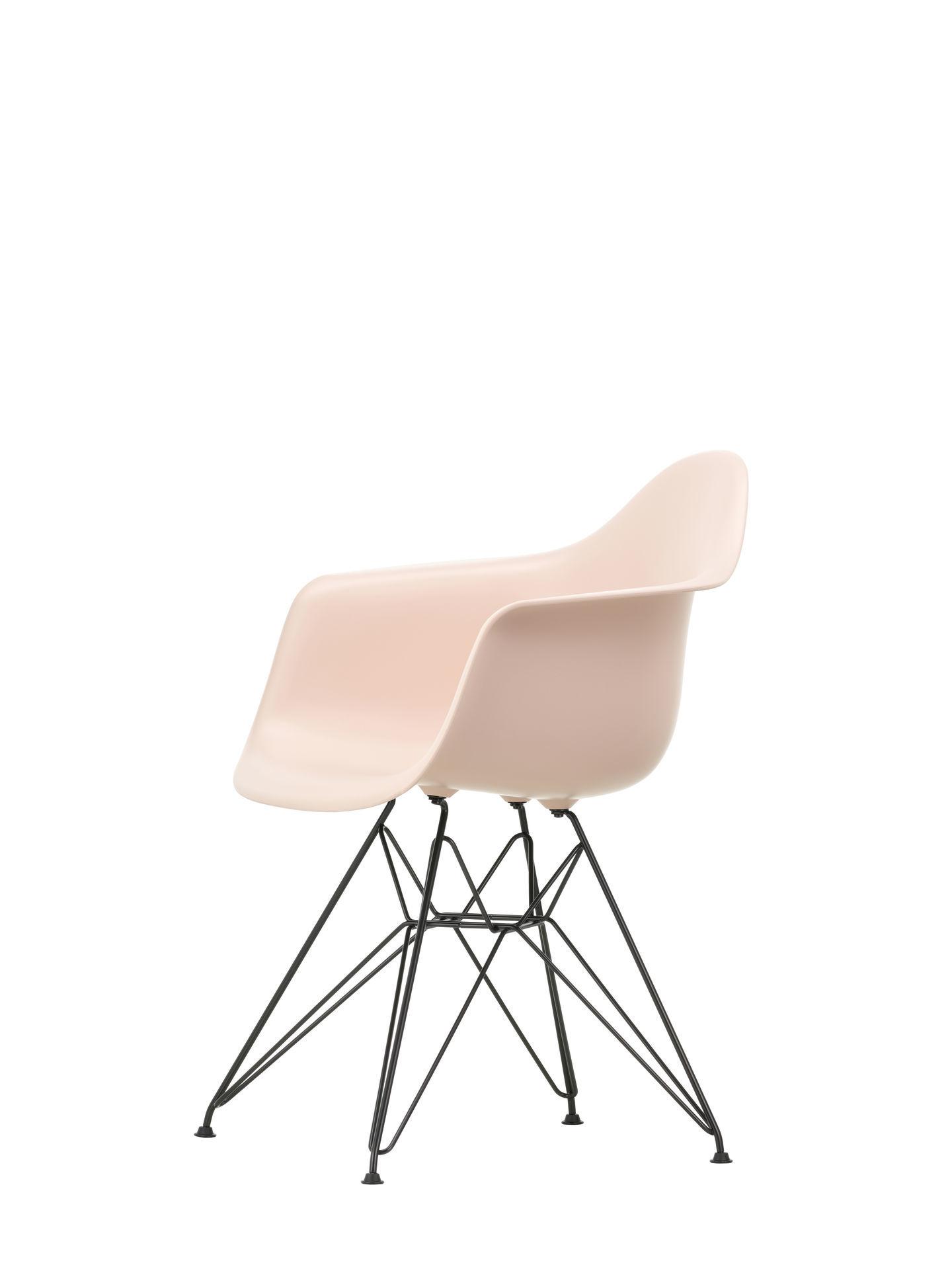 Eames Plastic Arm Chair DAR Stuhl Vitra Schwarz - Rostorange