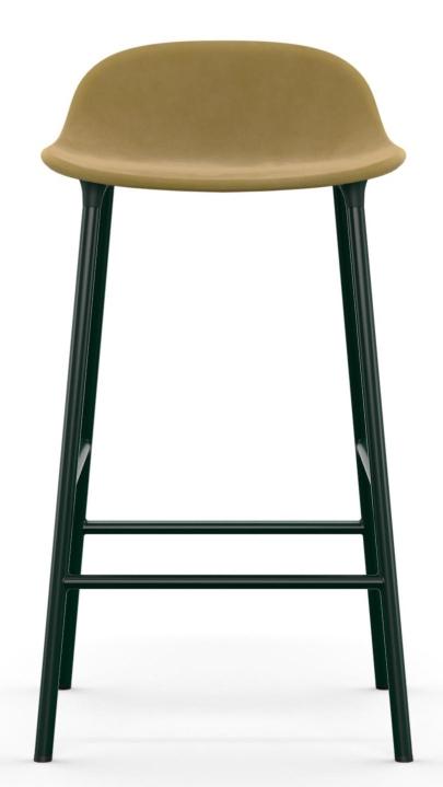 Form Barstool Barhocker H 65 cm Stahl Gepolstert Normann Copenhagen