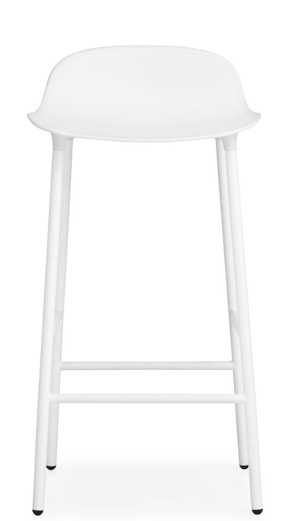 Form Barstool Barhocker H 65 cm Stahl Normann Copenhagen