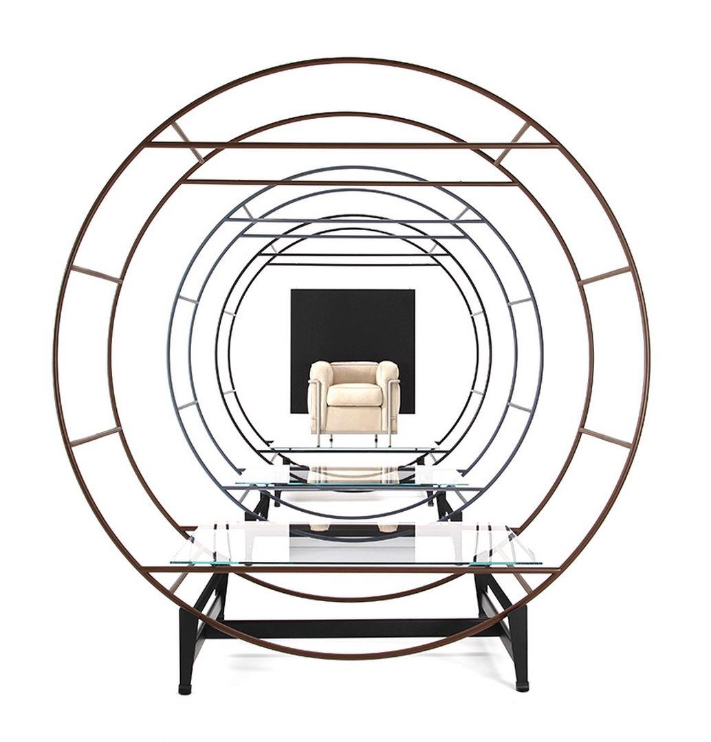 LC2 Sessel Gestell lackiert Cassina