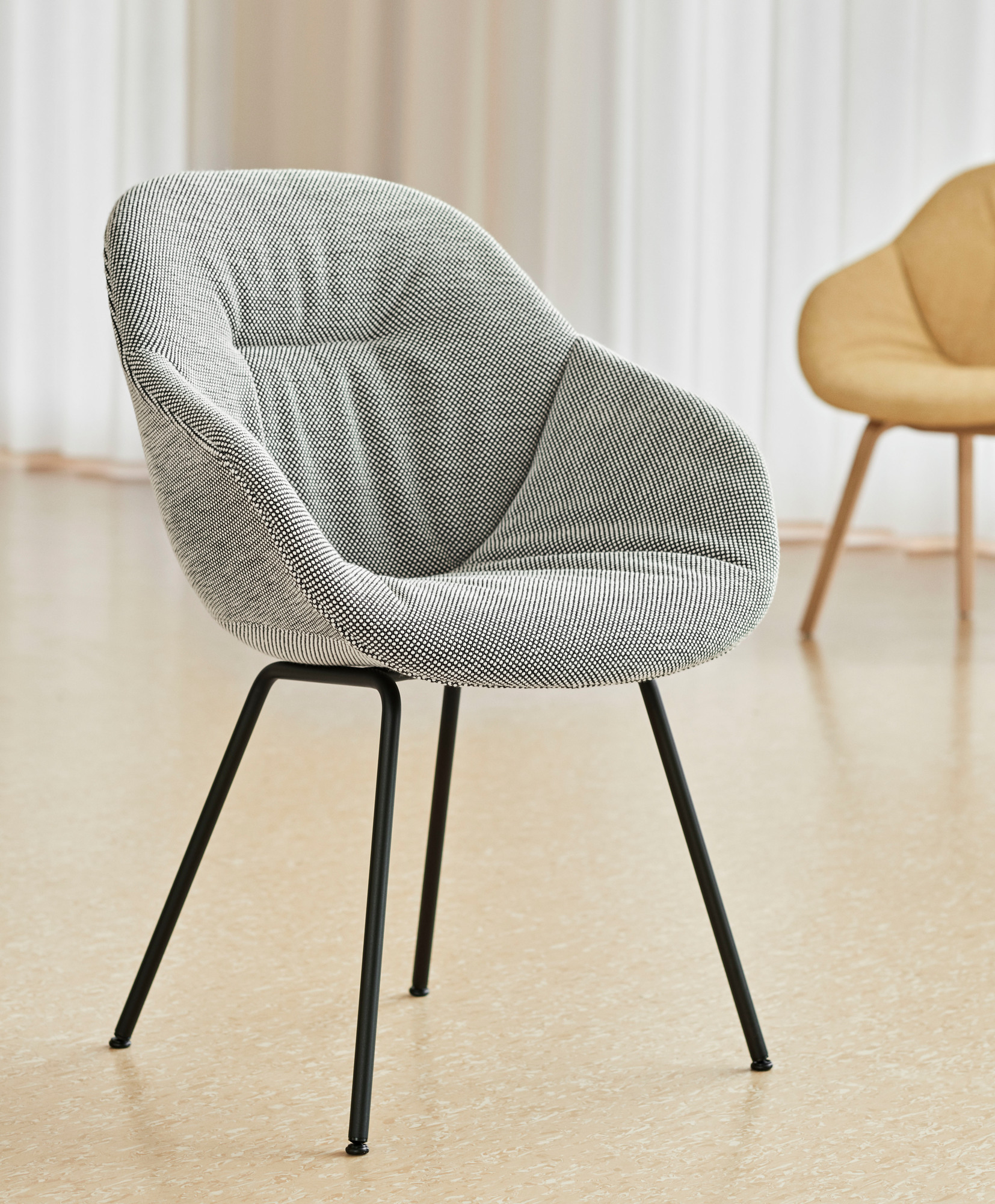 About a Chair AAC 127/ AAC127 / Soft / Soft Duo Stuhl Hay