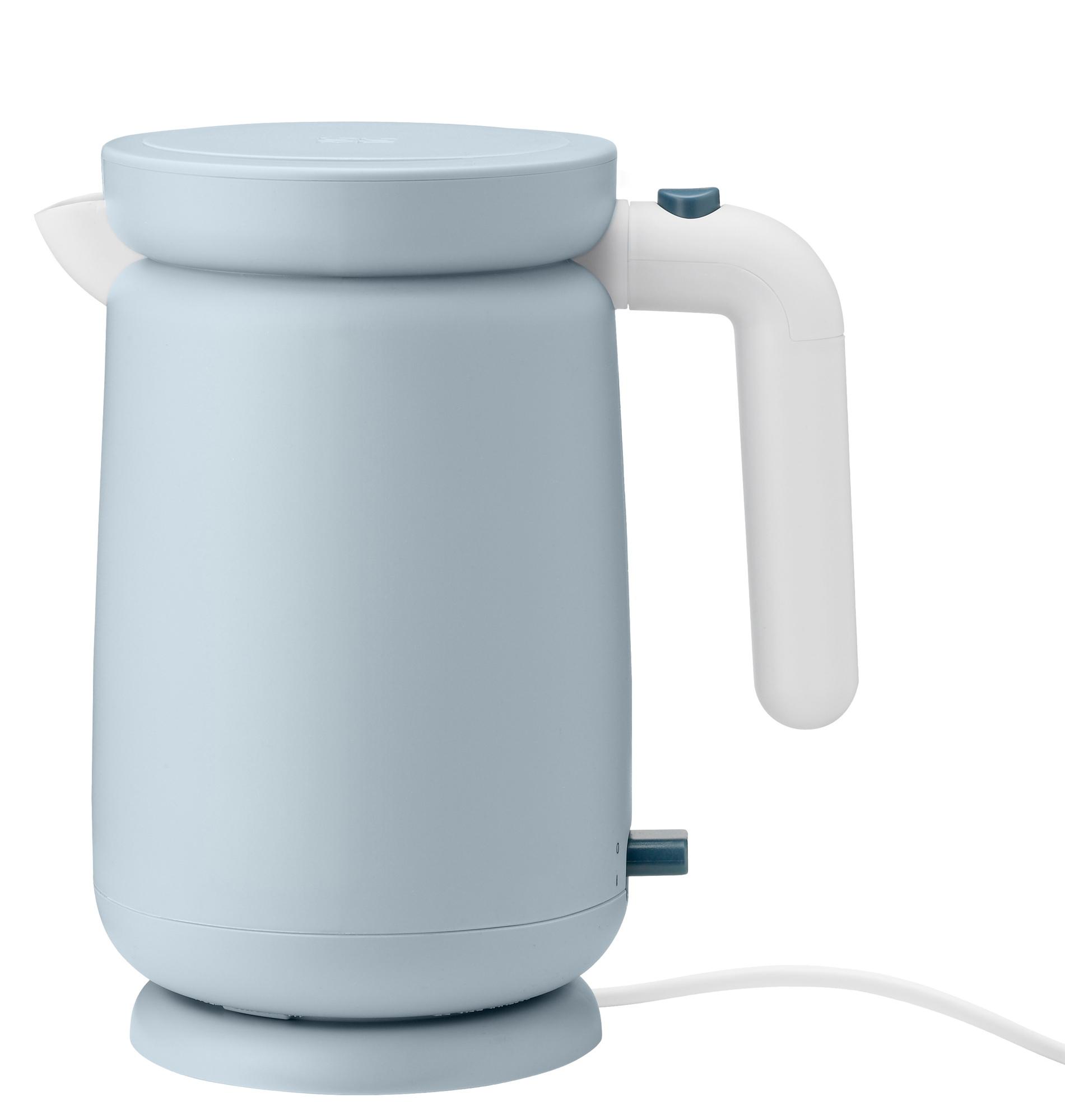Foodie Electric Kettle Wasserkocher Hellblau Stelton