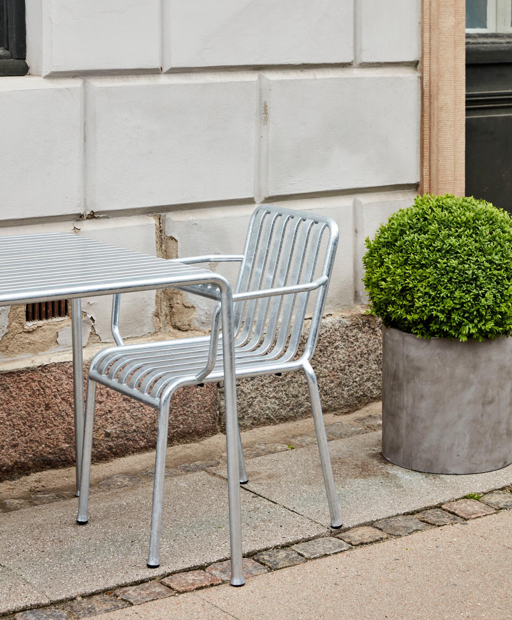 Palissade Table verzinkt Outdoor Tisch 170 x 90 cm Hay