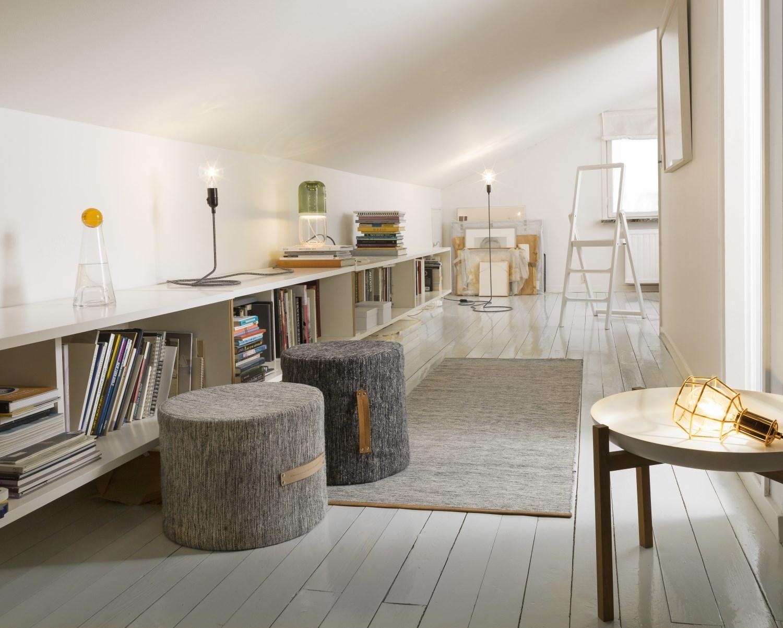 Björk Hocker hoch Design House Stockholm-Dunkelgrau