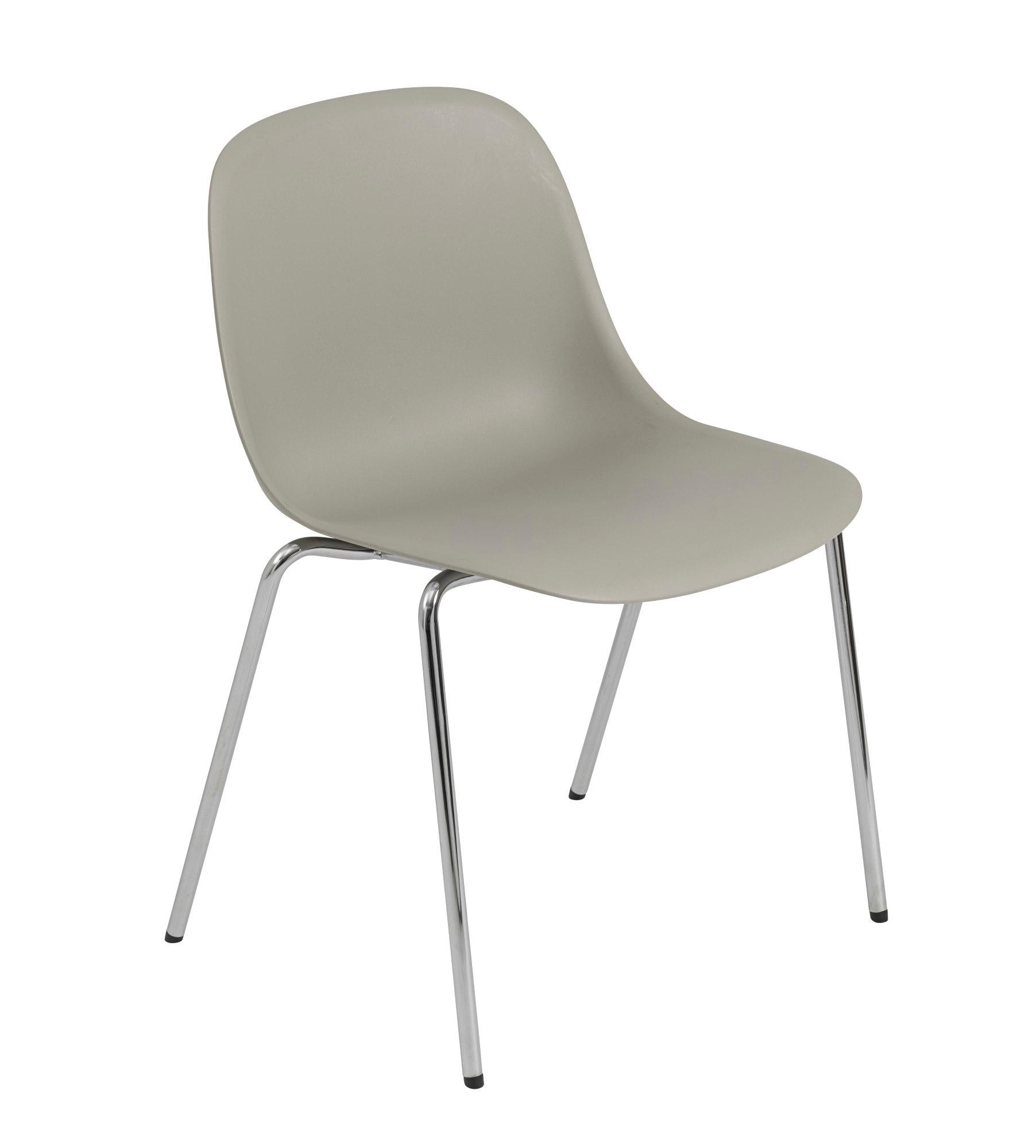Fiber Chair A Base Stuhl Muuto Schwarz
