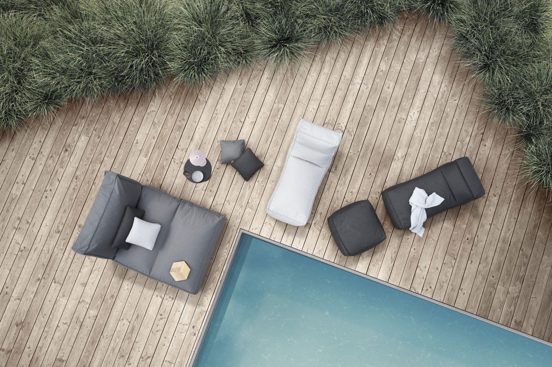 STAY Tagesbett Outdoor Stone Blomus