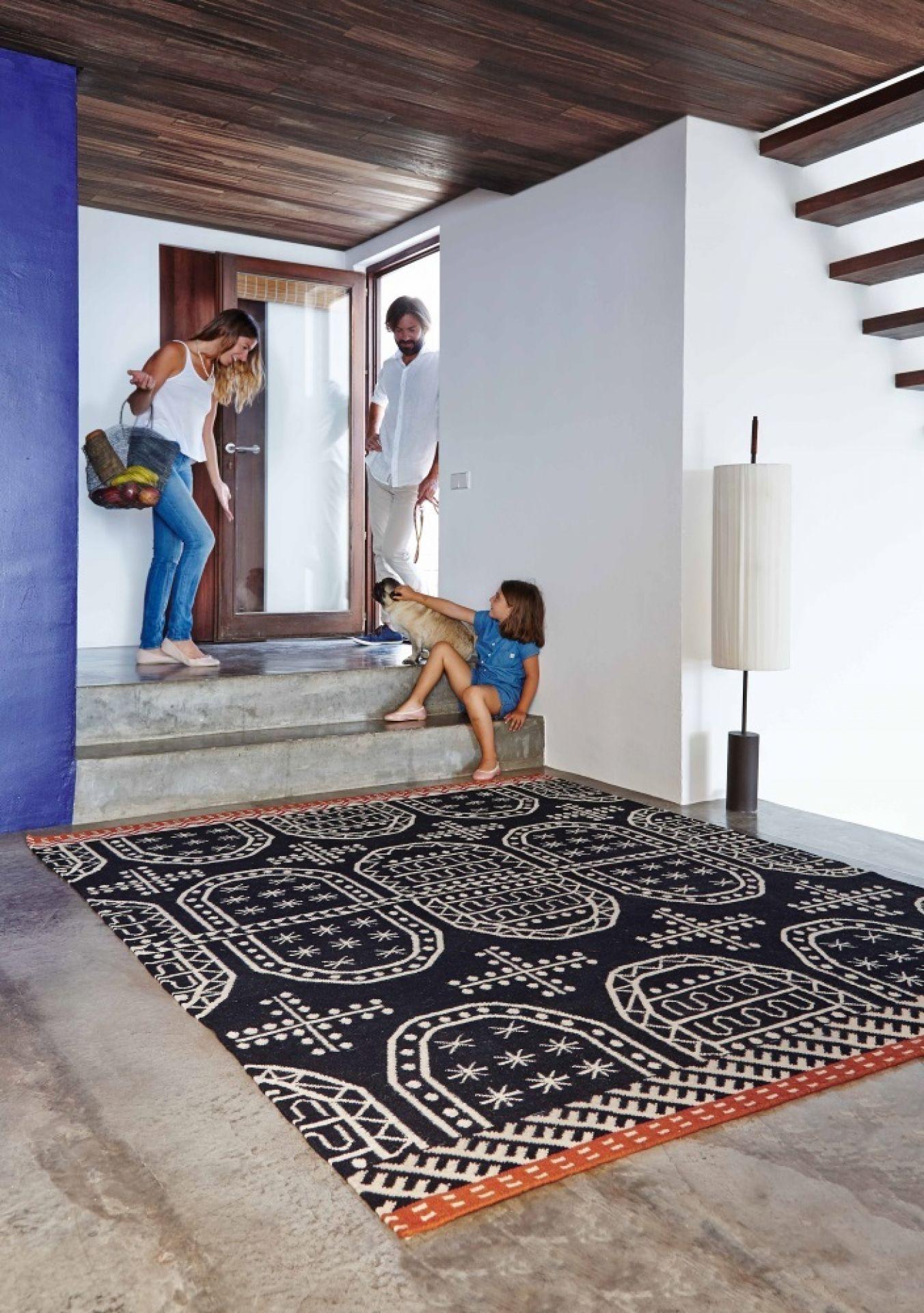 Kilim Tasili / Catania / Palermo 170x240 Teppich GAN-Tasili (schwarz)