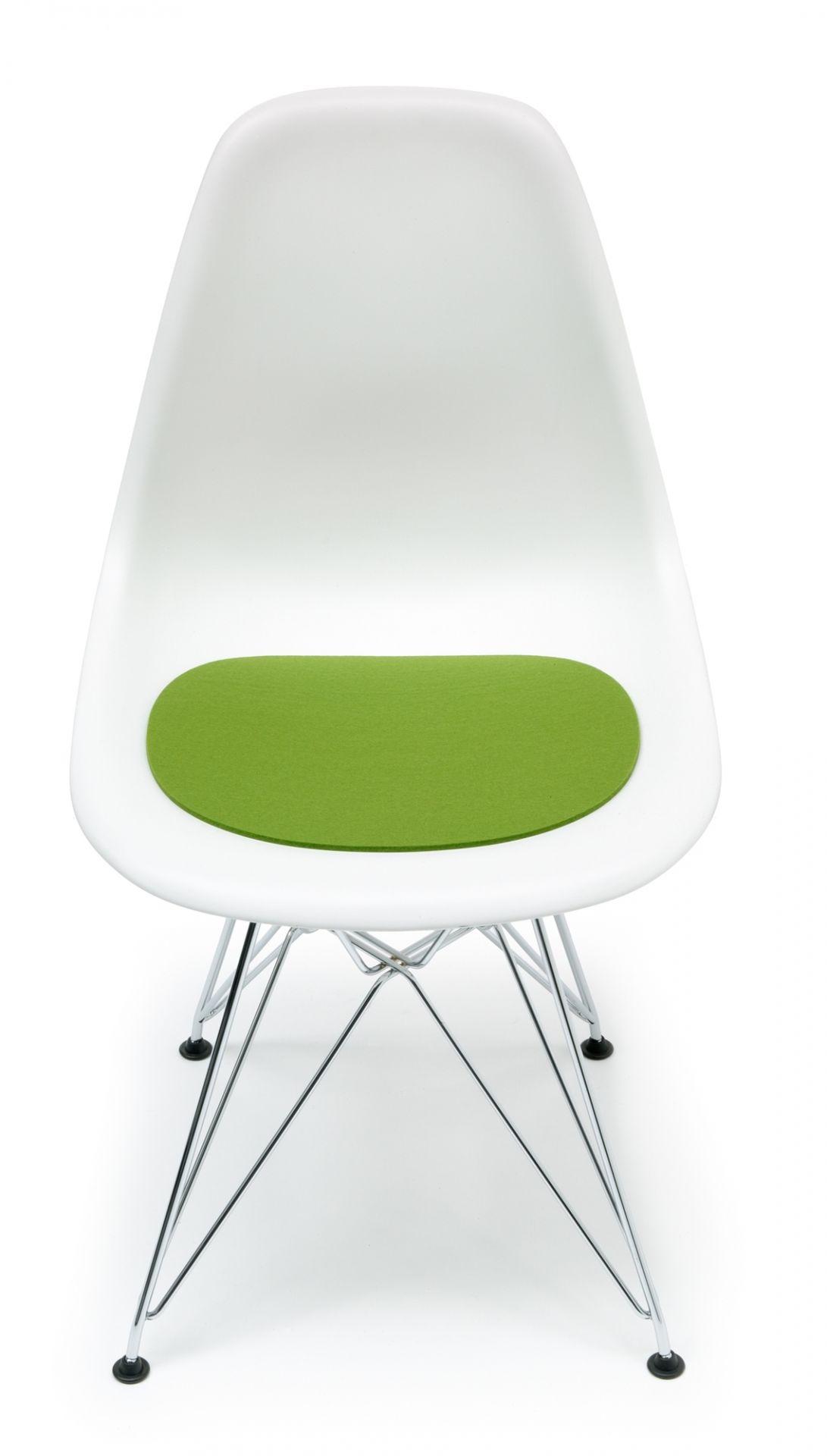 Sitzauflage-Filzauflage Eames Plastic Side Chairs DSR / DSW Maigrün Hey Sign