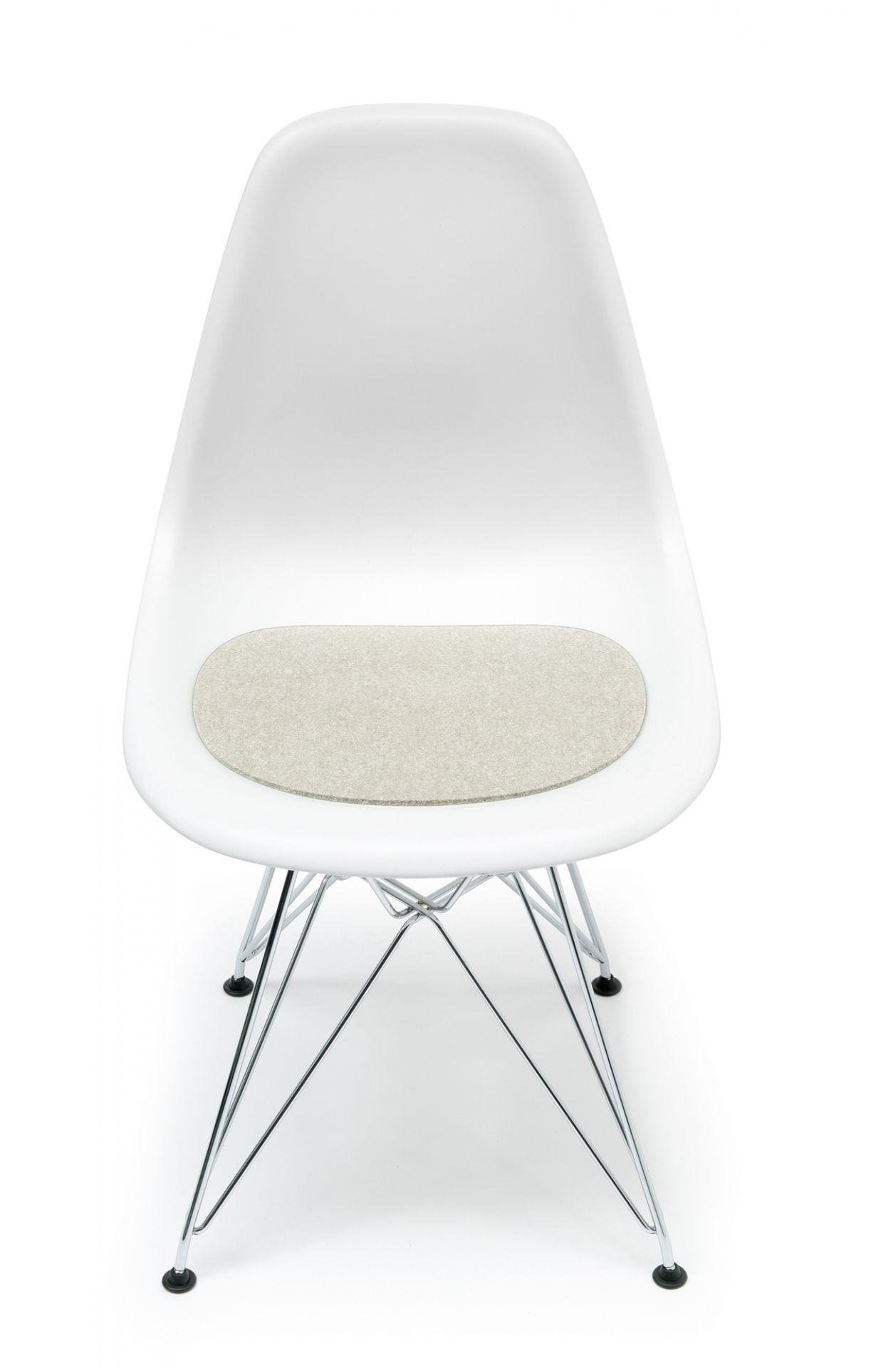 Sitzauflage-Filzauflage Eames Plastic Side Chairs DSR / DSW Marmor Hey Sign