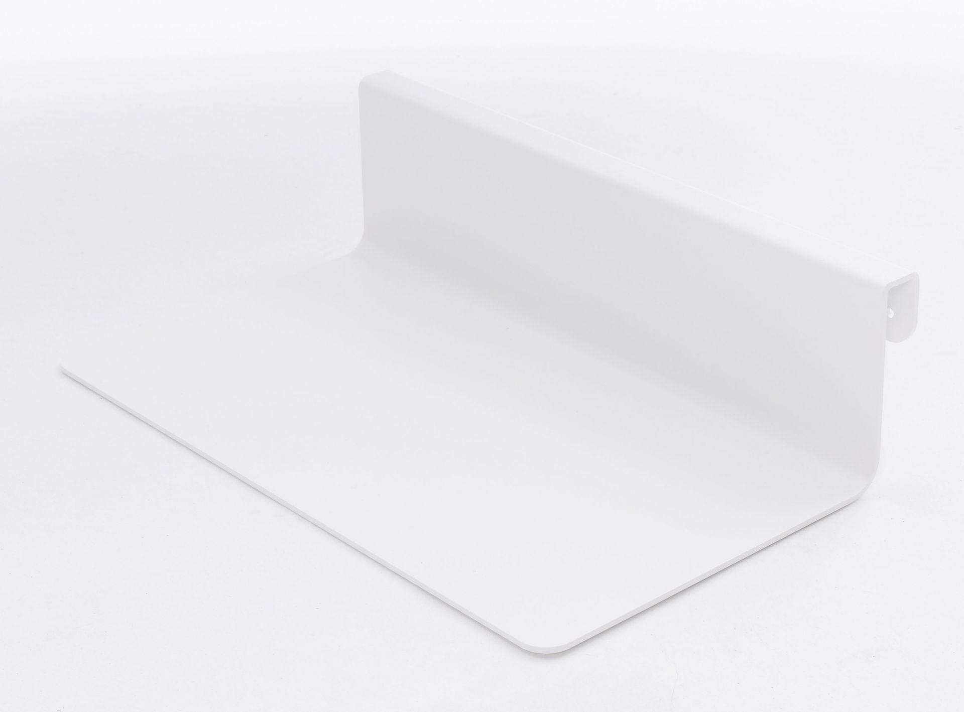 Nachttischablage Weiß für Flai Bed Müller Möbelwerkstätten