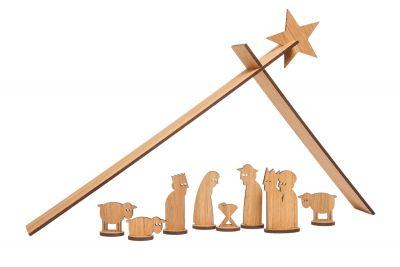 Simply Christmas Krippe Designimdorf