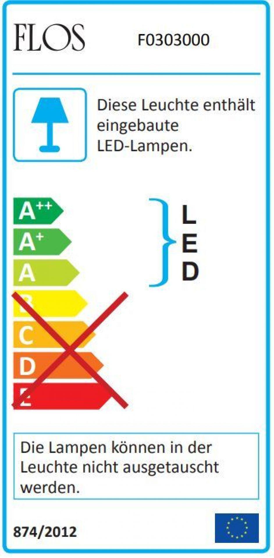 Arco LED Stehleuchte Flos