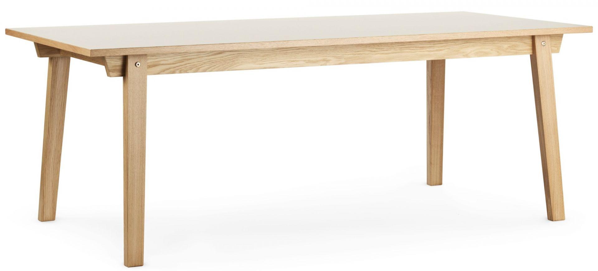 Slice Linoleum Table Tisch Normann Copenhagen-bordeaux