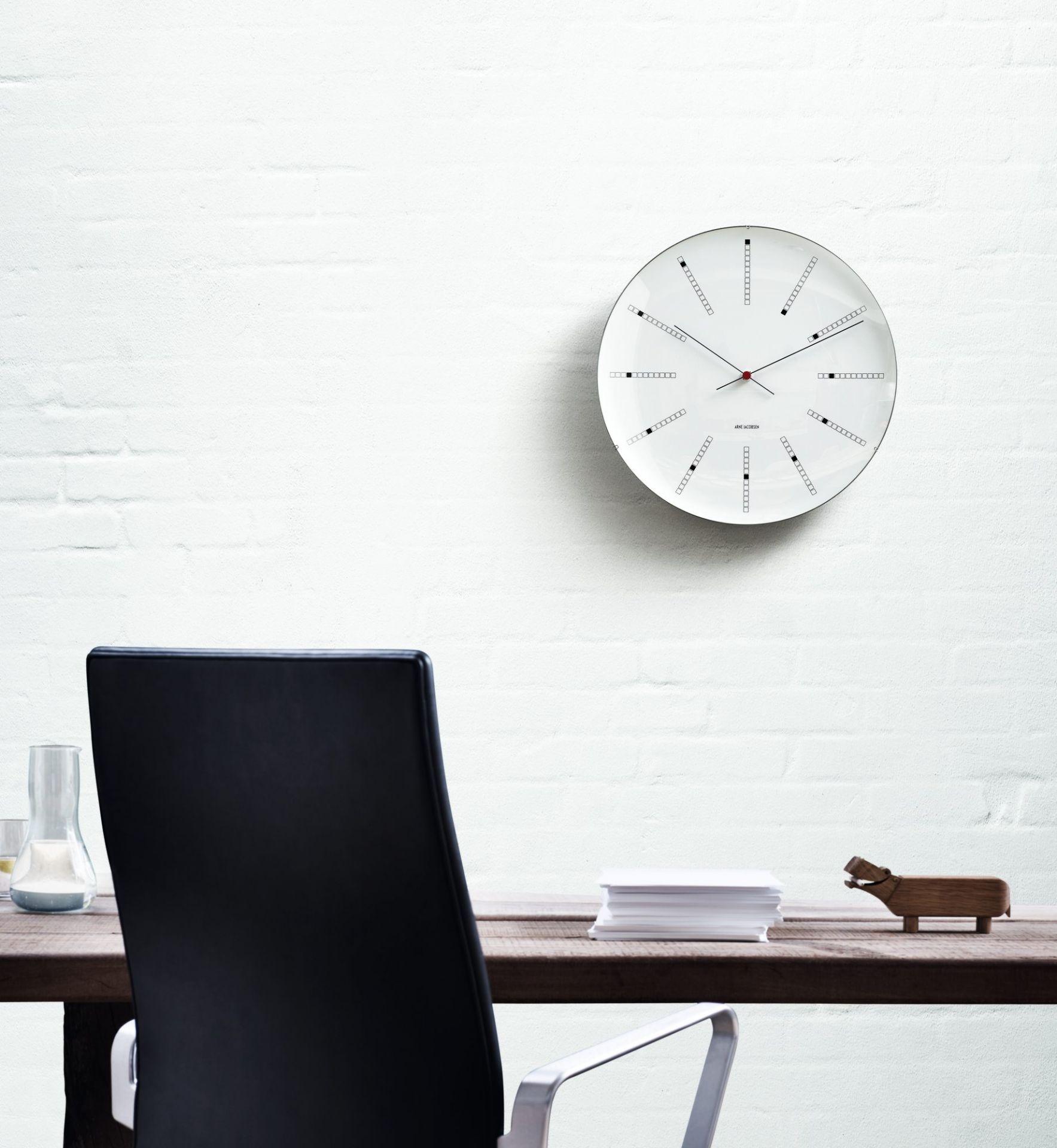 Bankers Wanduhr 48 cm Rosendahl Timepieces AUSSTELLUNGSSTÜCK