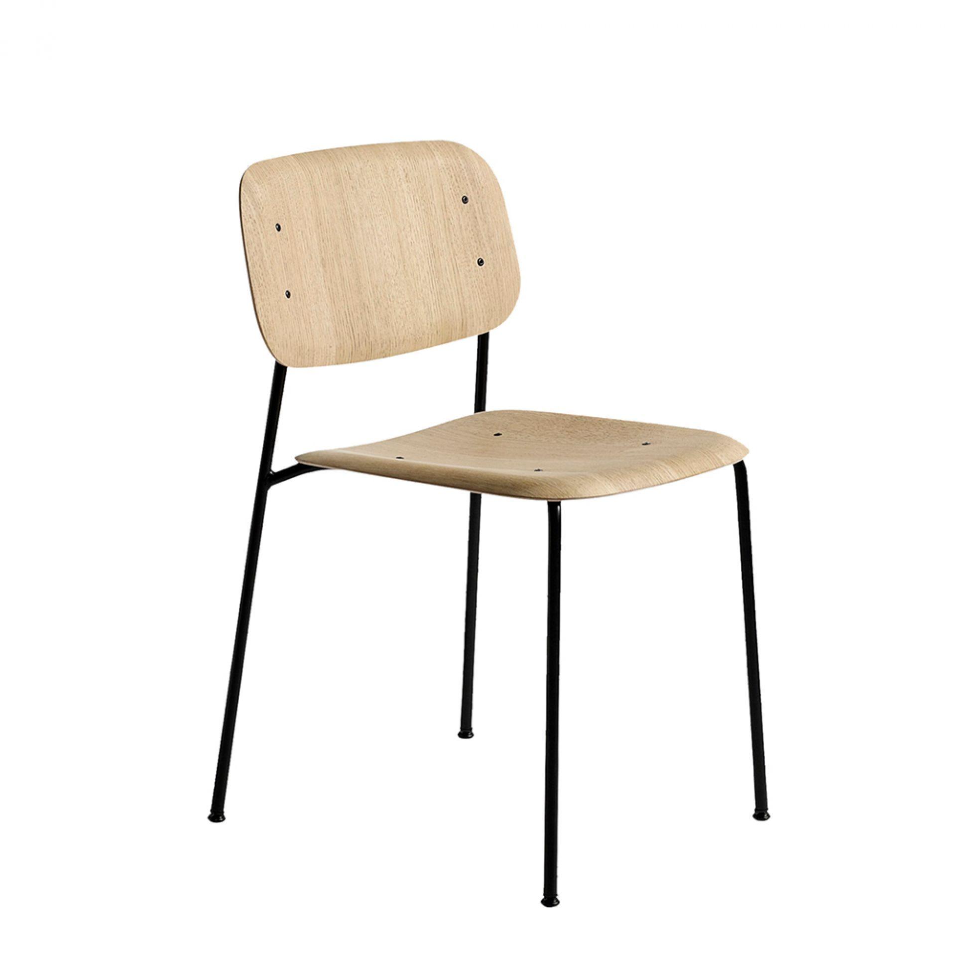 Soft Edge 10 Chair Stuhl Hay Eiche schwarz gebeizt