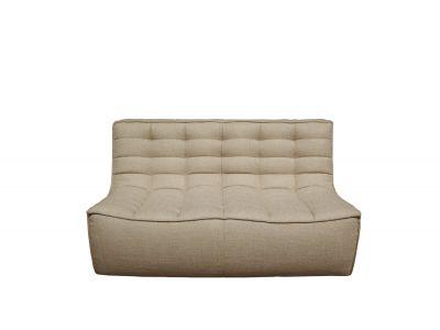 Sofa N701 2-Sitzer beige Ethnicraft