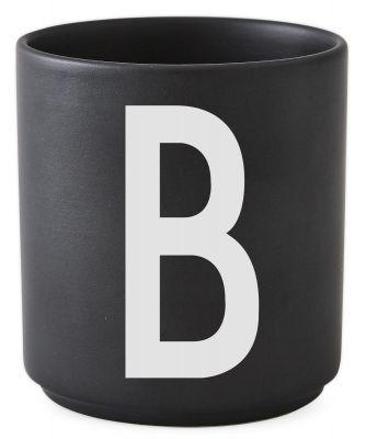 Buchstabenbecher Schwarz Design Letters-B