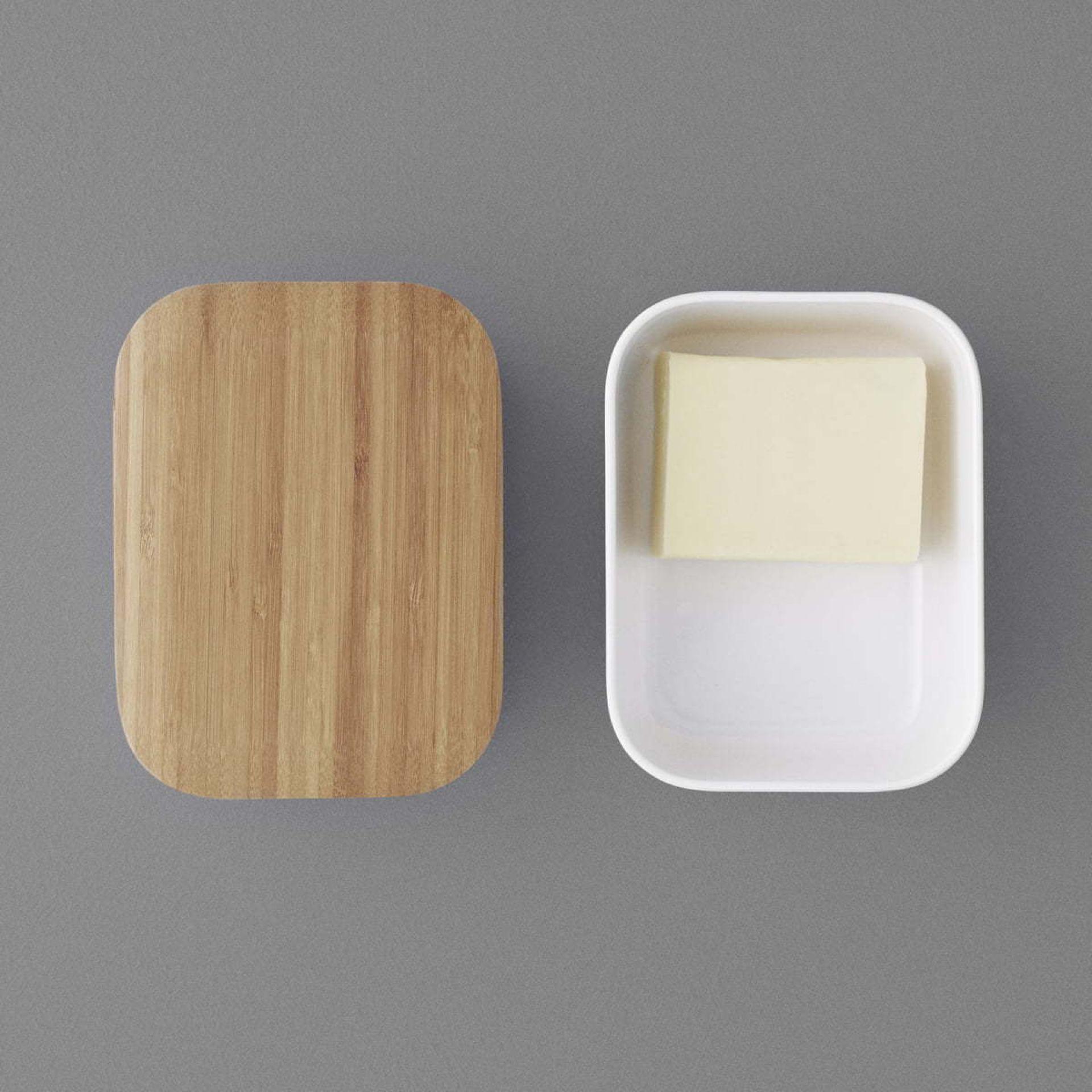 BOX-IT Butterdose Stelton schwarz