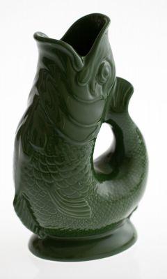 Gluckigluck Karaffe / Vase-dunkelgrün XL