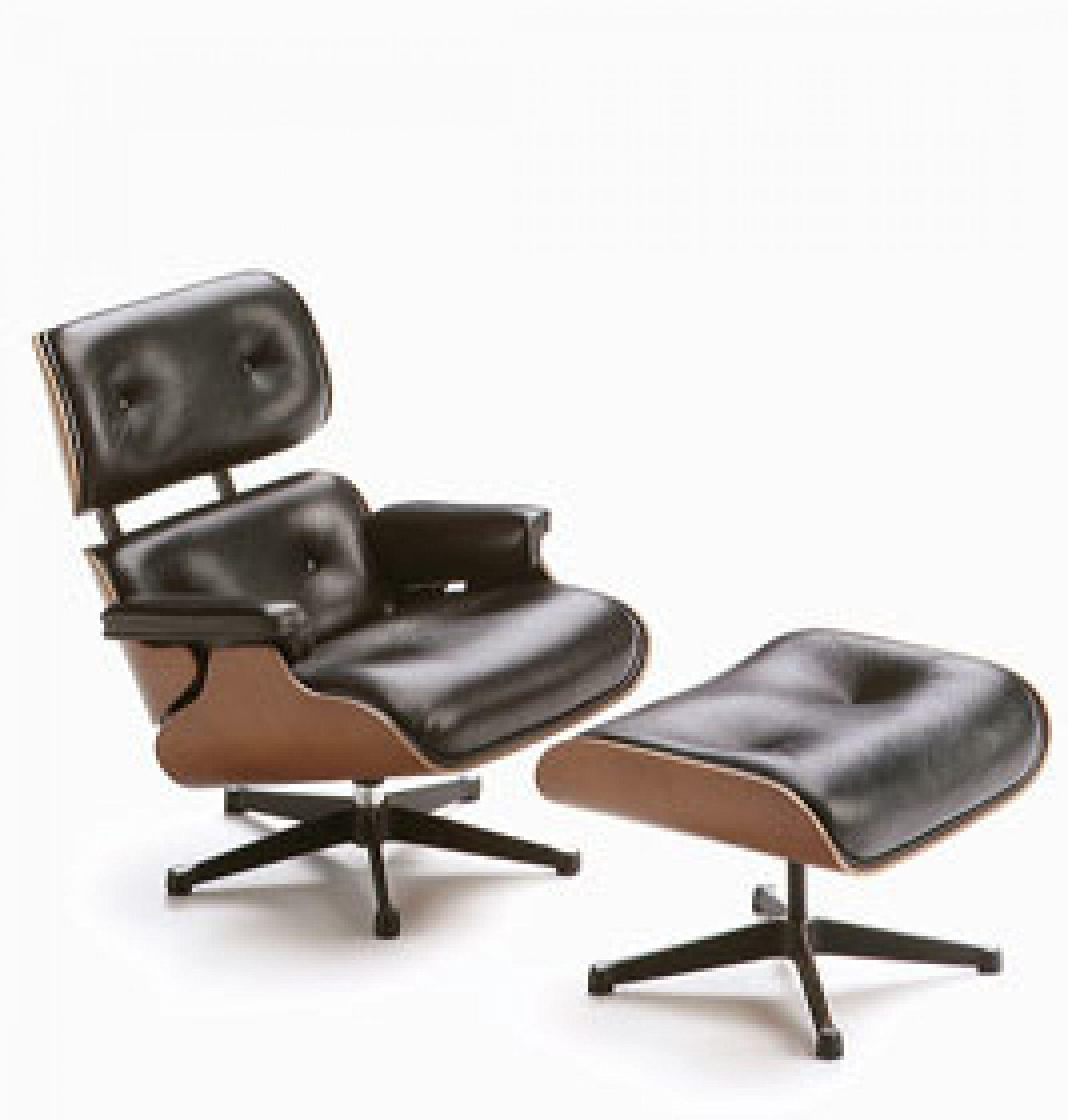 Miniatur Lounge Chair + Ottoman [1956]  Vitra