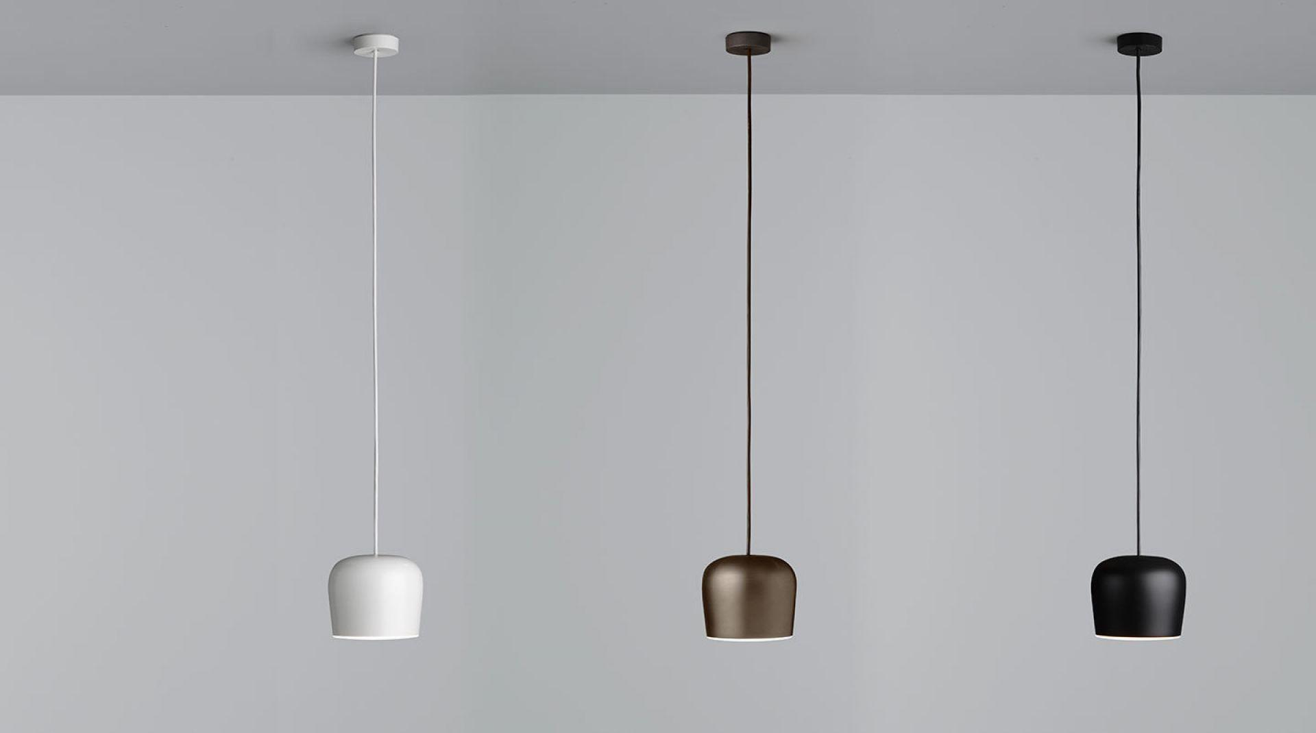 Aim Small Fix LED Pendelleuchte Flos Schwarz mit Dimmer