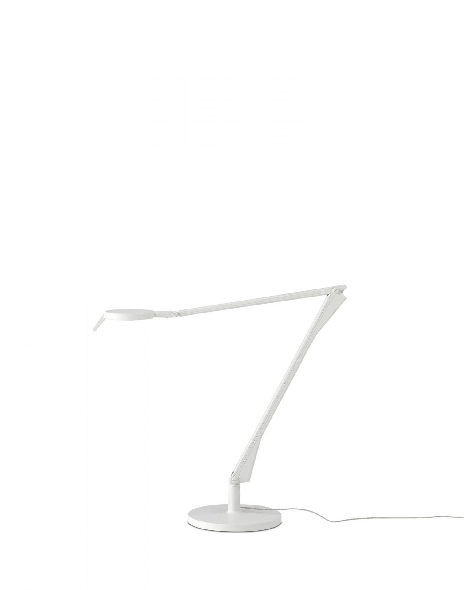 Aledin Tischleuchte mit Dimmer LED Matt Kartell
