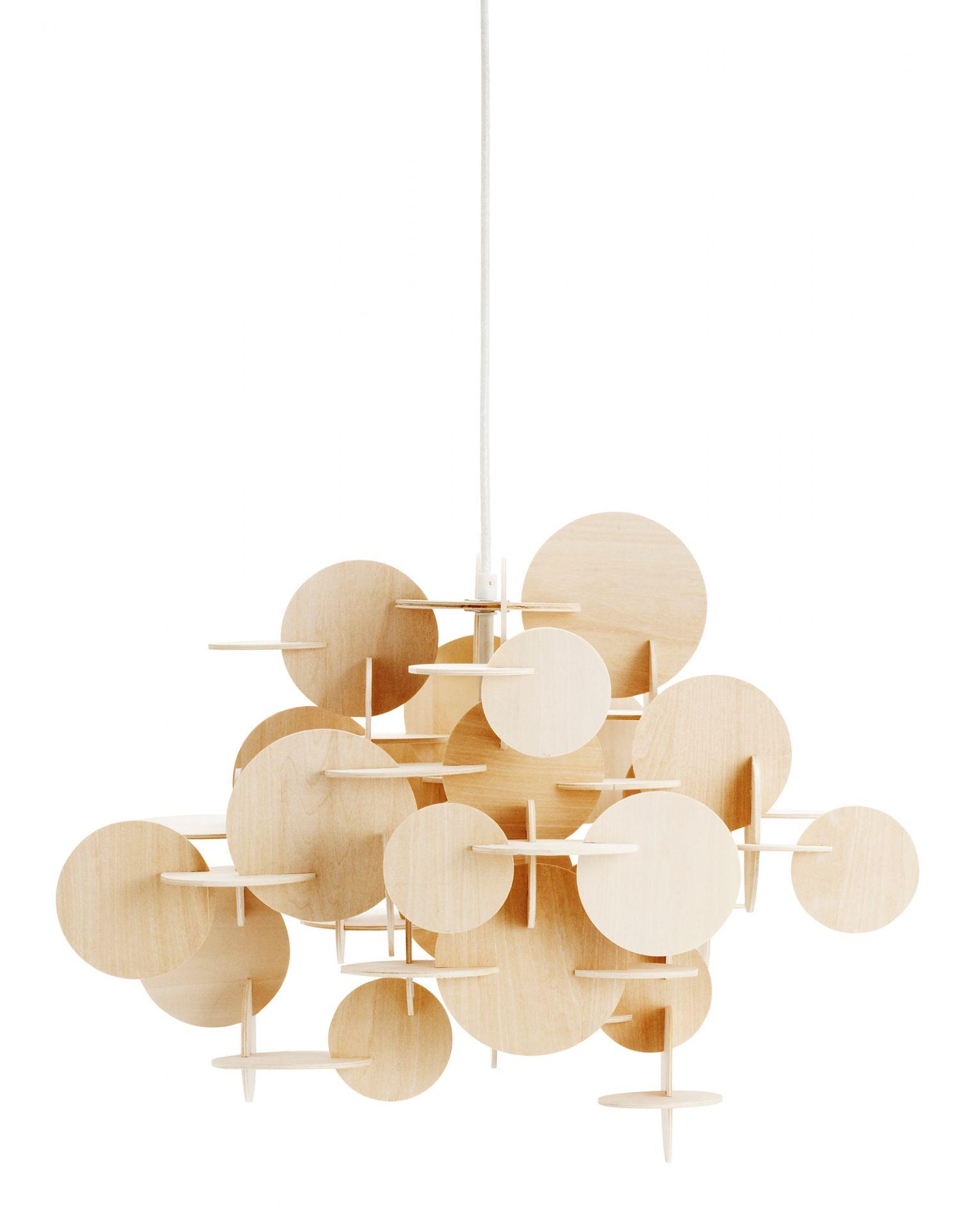 Bau Lamp Natur Pendelleuchte Normann Copenhagen Small