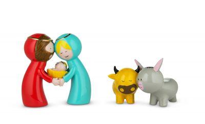 Happy Eternity Baby Weihnachtsfiguren Alessi